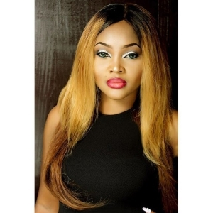 Actress Mercy Aigbe Looks Charming In Blonde Hair In New Photos